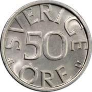 50 öre Carl XVI Gustaf -  revers