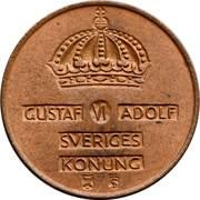 2 öre - Gustaf VI Adolf -  avers