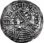 1 Denar - Olof Skötkonung (Sigtuna; Imitating Æthelred II, 978-1016) – avers