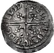1 Denar - Olof Skötkonung (Sigtuna; Imitating Æthelred II, 978-1016) – revers