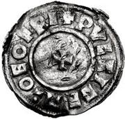 1 Denar - Olof Skötkonung / Imitating Cnut the Great, 1016-1035 (Sigtuna) – revers