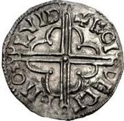 1 Denar - Anonymous / Imitating Cnut the Great, 1016-1035 Sigtuna – revers