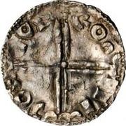 1 Denar - Olof Skötkonung / Imitating Æthelred II, 978-1016 (Sigtuna) – revers