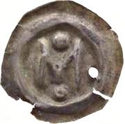Brakteat - Magnus III Ladulas – avers