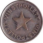 Jeton de jeu - Vinstpollett (Étoile) – avers