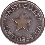 Jeton de jeu - Vinstpollett (Étoile) – revers
