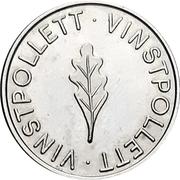 Jeton - Vinstpollett (Feuille de chêne) – revers