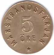 5 Öre - Marstrandsfärjan (Marstrand) – avers