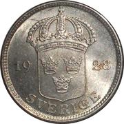 50 öre Gustaf V -  avers