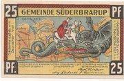 25 Pfennig (Süderbrarup) – avers