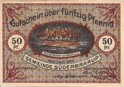 50 Pfennig (Süderbrarup) – avers