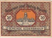 50 Pfennig (Süderbrarup ) – avers