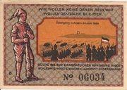 50 Pfennig (Süderbrarup ) – revers