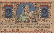 2 Mark (Süderbrarup) – avers