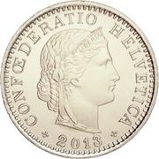 20 centimes Tête de Libertas (cupronickel) -  avers