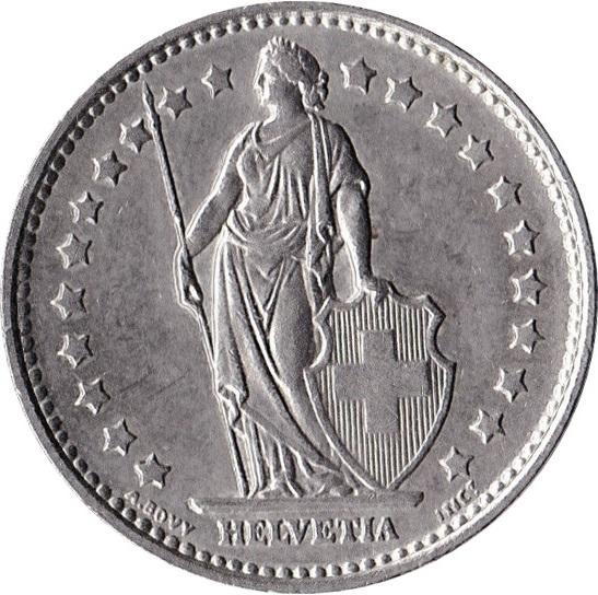 piece de monnaie 1 franc 1989