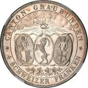 4 francs (festival de tournage) – avers