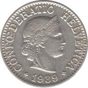 10 centimes Tête de Libertas (nickel) -  avers
