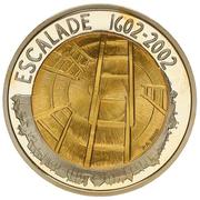 5 francs Escalade -  avers