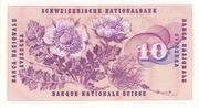 10 francs (5ème série) – revers