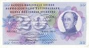 20 Francs (Henri Dufour) – avers