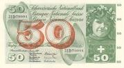 50 francs (5ème série, type 2) – avers