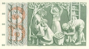 50 francs (5ème série, type 2) – revers