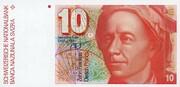 10 Francs (Leonhard Euler) – avers