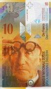 10 Francs (Le Corbusier) – avers