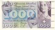 1000 francs (5ème série) -  avers