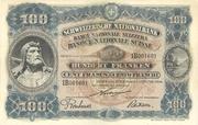 100 francs (3ème série) – avers