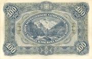 100 francs (3ème série) – revers