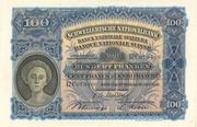 100 francs (2ème série, type 3) – avers