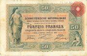 50 Francs (1ère série) – avers