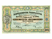 20 Francs (2ème série, type 1) – avers