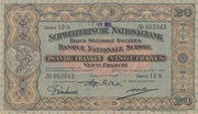 20 Francs (2ème série, type 3) – avers
