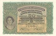 50 francs (2ème série, type 2) – avers