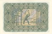50 francs (2ème série, type 2) – revers