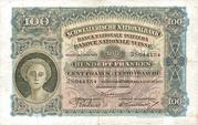 100 francs (2ème série, type 2) – avers