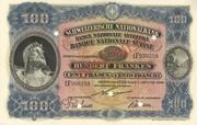 100 francs (3ème série, billet de réserve) – avers