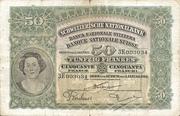 50 francs (2ème série, type 1) – avers