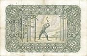 50 francs (2ème série, type 1) – revers
