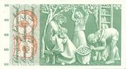 50 francs (5ème série, type 1) – revers