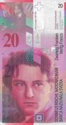 20 francs (8ème série) – avers