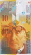 10 francs (8ème série) – avers