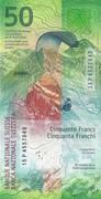 50 francs (9ème série) – revers