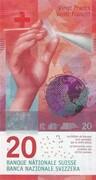 20 francs (9ème série) – avers