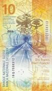 10 francs (9ème série) – revers