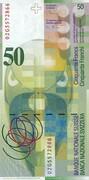 50 francs (8ème série) – revers