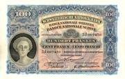 100 francs (2ème série, type 1) – avers